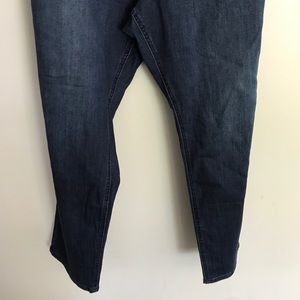 Avenue Jeans - NWT Avenue denim legging Jean 28 dark wash hi rise